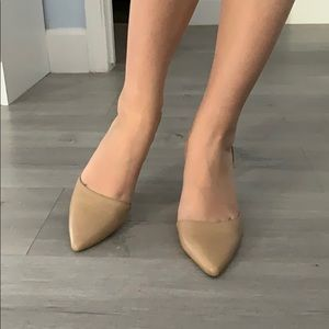 Sam Edelman genuine leather shoes in nude